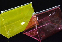 pvc bag/ cusomized pvc bag with zipper from china/ clear pvc bag with zipper for wooden beads