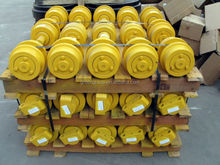 excavator and bulldozer chassis/ undercarriage parts, D155 track roller idler sprocket carrier four rollers D50 D60 D20