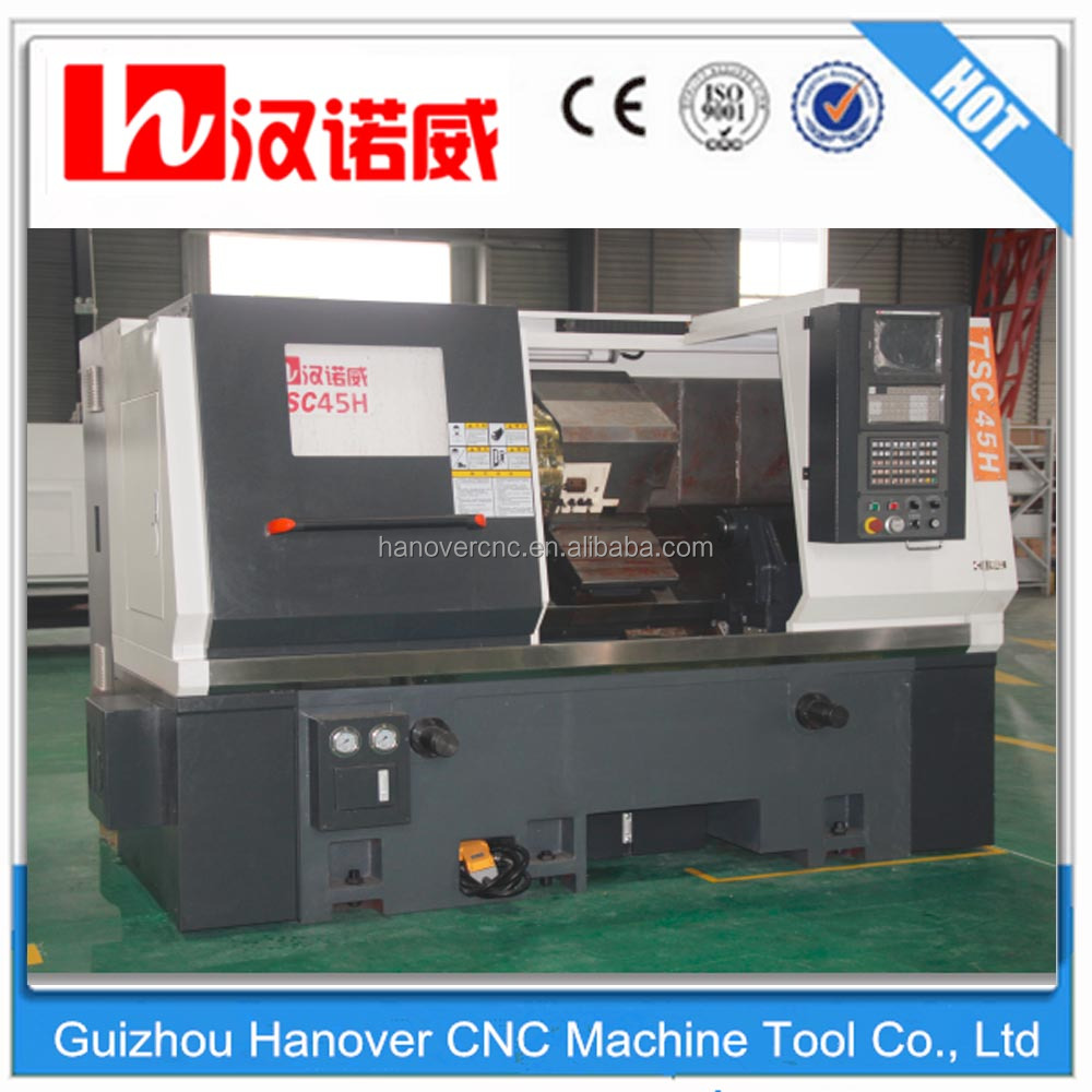 TSC45H CNC Slant Bed CNC Lathe FANUC Control Turning Center With Price