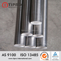 Titanium rod for industry