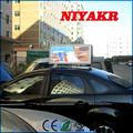 Niyakr High Quality Wireless 3G/WIFI/GPS/USB xxx Video Advertising Taxi Roof Top Signs LEDs