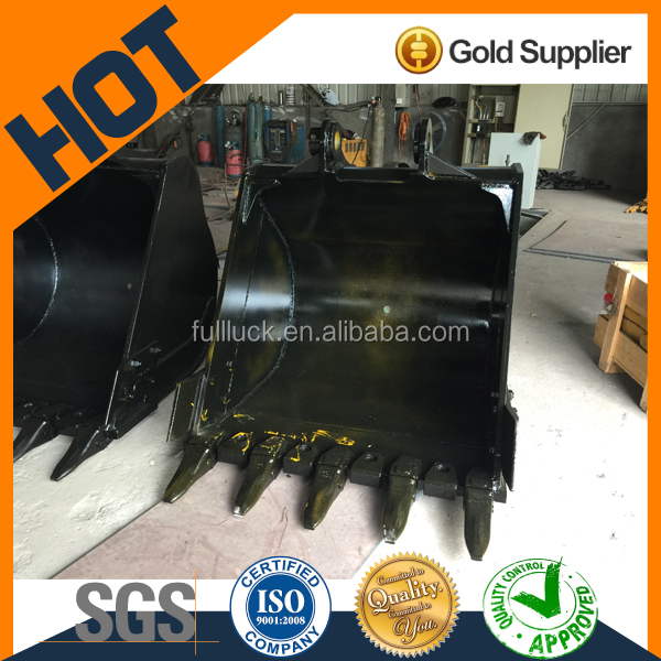 1.2 cbm high quality excavator bucket size for sale for SANY