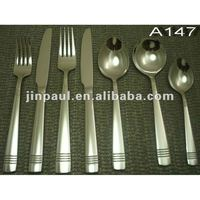 metal fork spoon