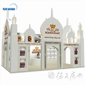 Detian offer exhibition booth display stand wood exhibition booth design