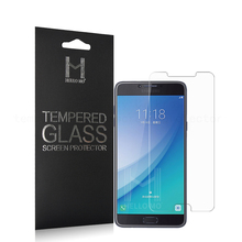 Best selling Premium 0.3mm 9H 2.5D Tempered Glass screen protector for Samsung Galaxy C7 Pro