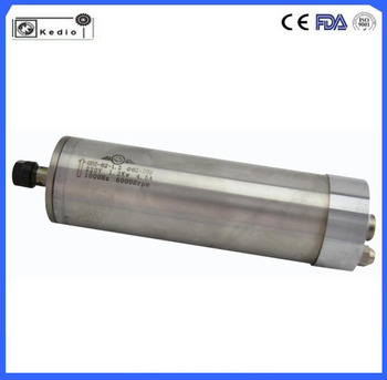 metal cutting spindle motor 1.2kw water cooling (GDZ62-1.2)