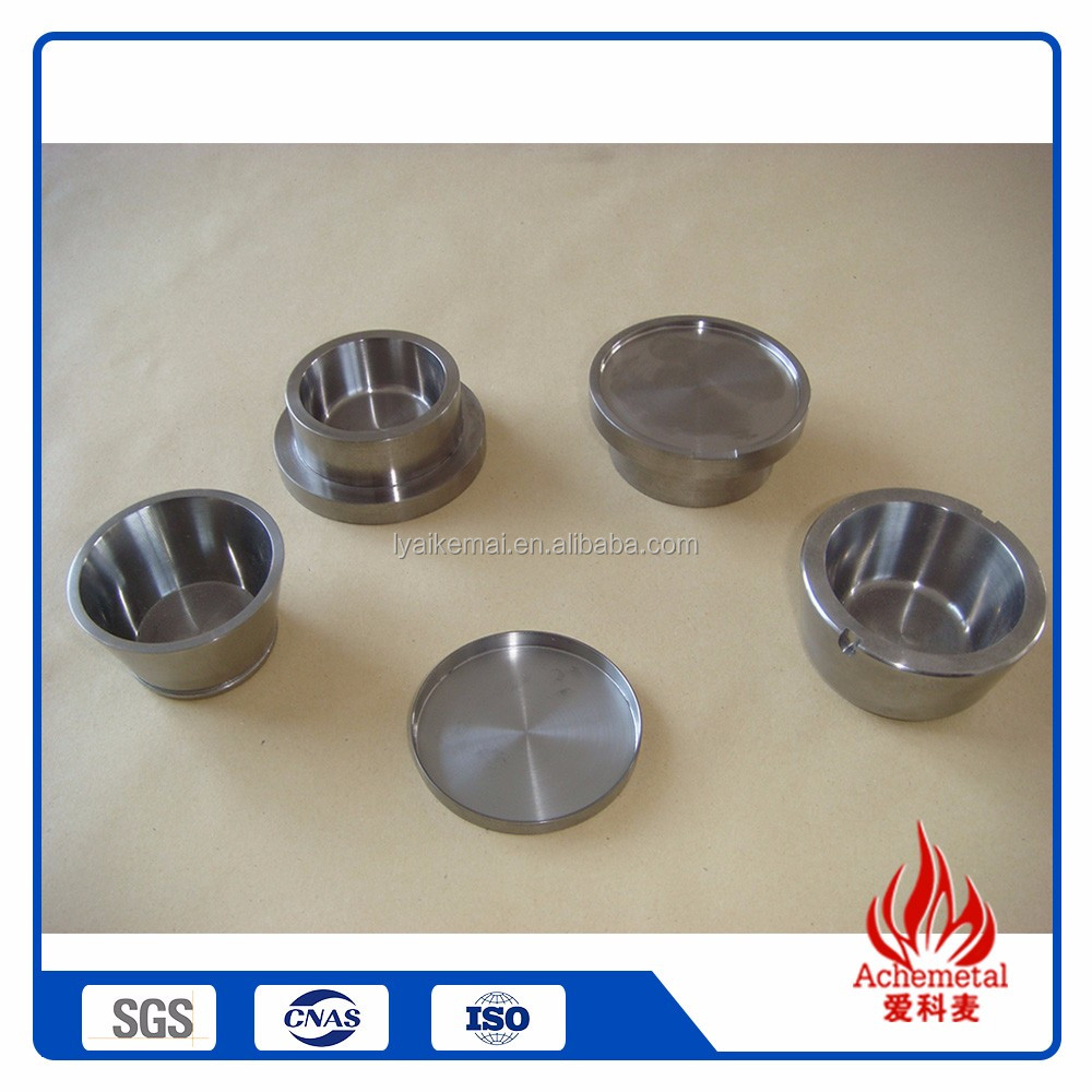 Cheap Wholesale heating molybdenum crucible crucible furnace melting gold