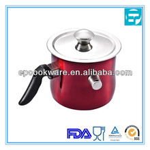 1.5L stainless steel Milk Boiling Pot