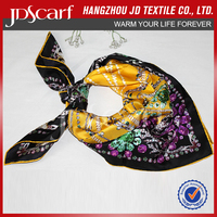 China manufacturer new fashioned luxury italian silk scarves