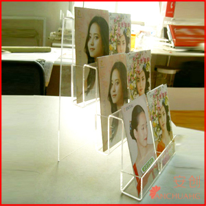 Acrylic file sorter _Tatalog stand_book stand