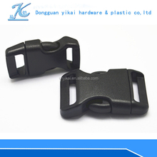 Fashion curved side release buckles,quick release buckle wholesale ,plastic buckle for strap