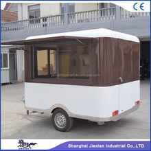 JX-FS250R Jiexian new design outdoor strong fiberglass box utility trailer for sale
