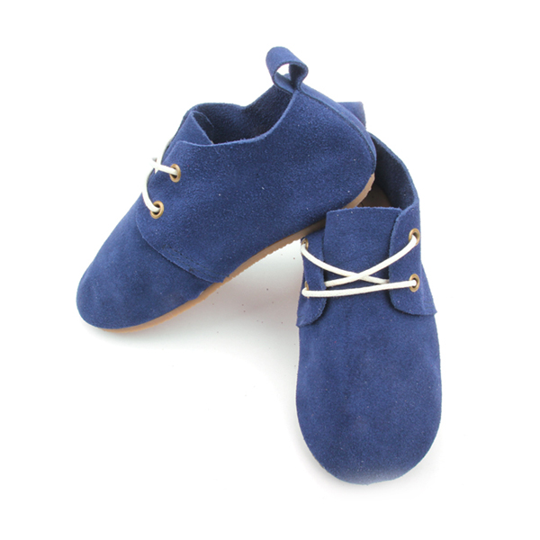 Top Quality Hard Rubber Sole Kids Shoes Wholesale Oxford Style Kids Leather Shoes
