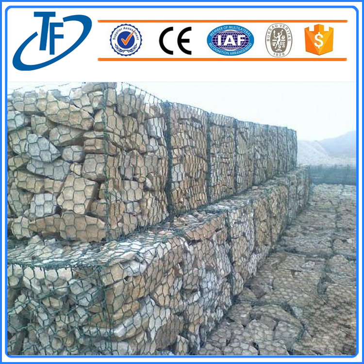 ISO Quality gabion box prices/Stone Cages/welded gabion box