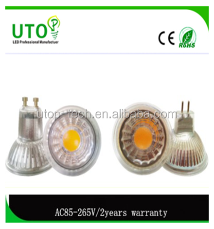 Factory price Dimmable GU10 3X3W 9W AC85-265V Led Spotlight Led Bulb Lamp Warm Cool White Spotlight Free Shipping