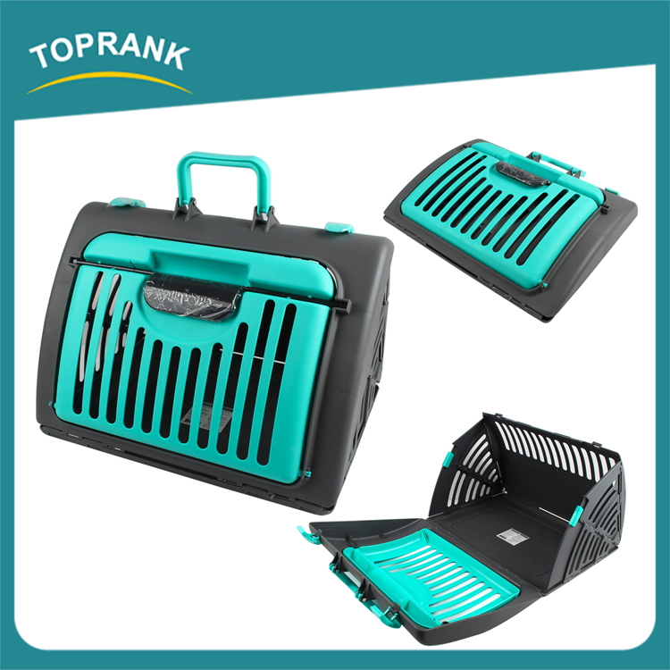 Cheap wholesale plastic dog carrier crates, custom made commercial pet carrier for dog