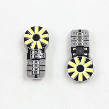 auto car parts w5w 194 for mercedes b.enz/b.mw/audi led t10 canbus 18smd 4014 interior light t10 light bulb