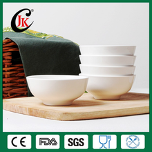 Wholesale cheap customer printed rice bowl white ceramic bowl