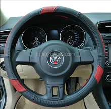 YDSH-014Leather wholesale factory supplier car steering wheel cover