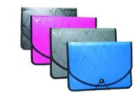 China manufacturer A4 size a-z 26 pocket expanding file