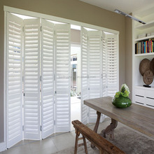 movable louvers timber louvre plantation shutters