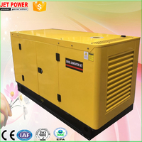 GF-12 backup home use portable 12kw 15kva diesel generator powered by Chinese Weifang Ricardo engine