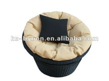Outdoor Rattan Round Swivel Chair