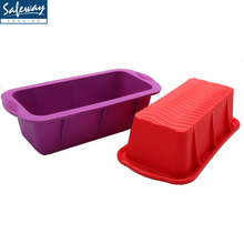 Baking tools nonstick Silicone loaf pan, bread baking form, bread mold