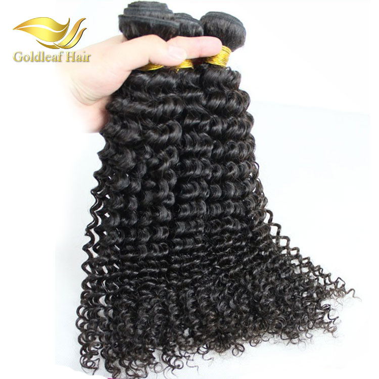 Brand new 100% remy human brazilian spiral curl human hair weaving from hair weave distributors