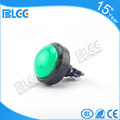 High quality Rounded 100mm Illuminated switches momentary plastic push button for arcade game machine