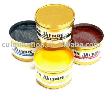 offset resin printing ink
