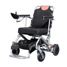 Lightweight Foldable Reclining Medical Electric Motorized Wheelchair With Brushless Motor