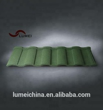 colorful stone coated metal roof tiles