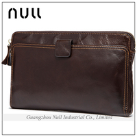 Popular High Quality Classic Style Wholesale Leather India Clutch Bag Men