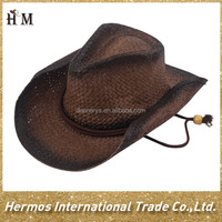 Trendy high quality brown favorite mexico straw hat