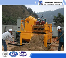 cyclone cone desander for piling foundation