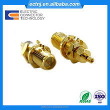 Reverse Female Jack SMA Antenna Connector straight for Coaxial Cable