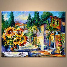 Hot sell 100% Handmade famous artist landscape picture