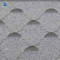 roof tile, asphalt roofing shingle (lantern shape)