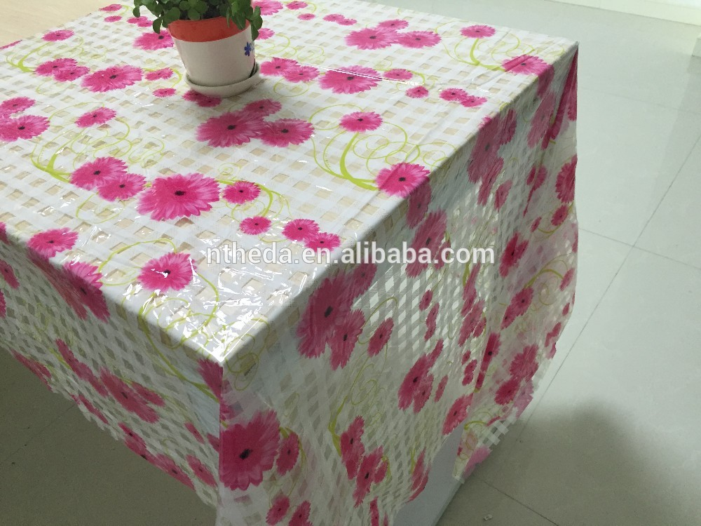 hot sale & high quality PVC table cover with CE certificate