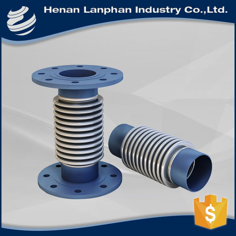 carbon steel flange metal bellows concrete expansion joint