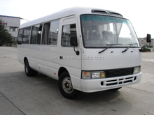 Best price 6m RHD20 seater Toyota coaster type mini bus for hot sale