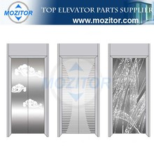Mozitor Decorative Elevator Door Cabin Stainless Steel Panel