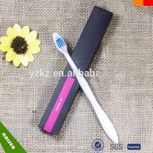 Disposable biodegradable toothbrush for hotel/travel/airline