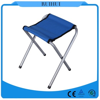 Fishing equipment lightweight cute folding chair and camping stool easy carry.