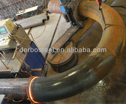 Hot Induction Bend Carbon Steel ASTM A234 Wpb 180 Degree Be