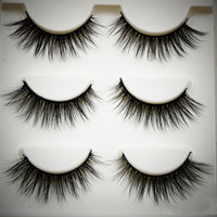 Wholesale Price Hot Sale 100 Human Hair False Eyelashes,hand made high quality 100% real human hair eyelashes