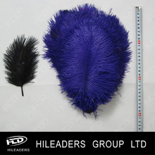 FH462 Wedding table decoration 25-30cm purple ostrich feathers