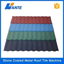 Trade Assurance roof tile /colorful stone coated metal roofing shingle tile