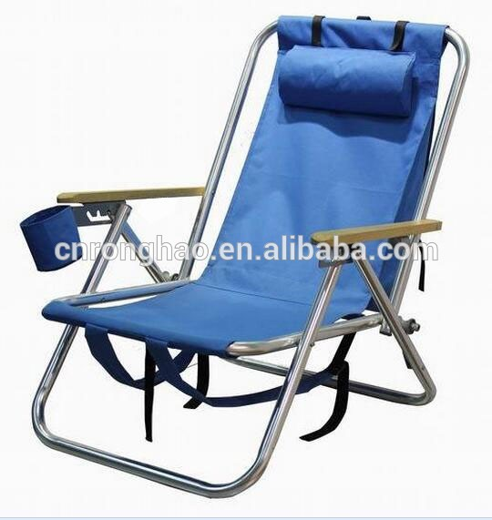 folding camping chair with three legs